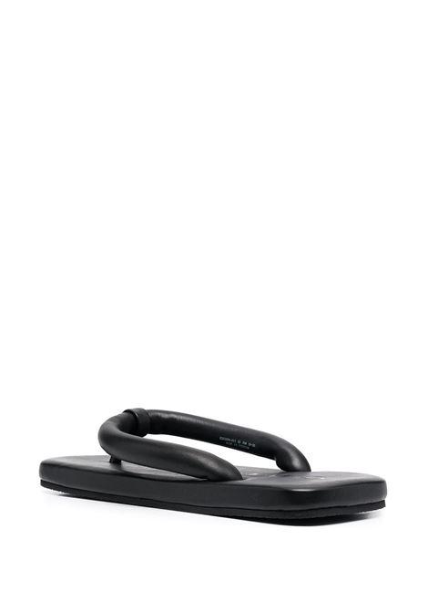 Ciabatta con punta aperta nero- donna CAMPER LAB | K201094011
