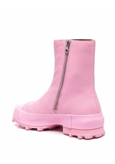 Stivaletti con zip laterale rosa- donna CAMPER LAB | K400467012