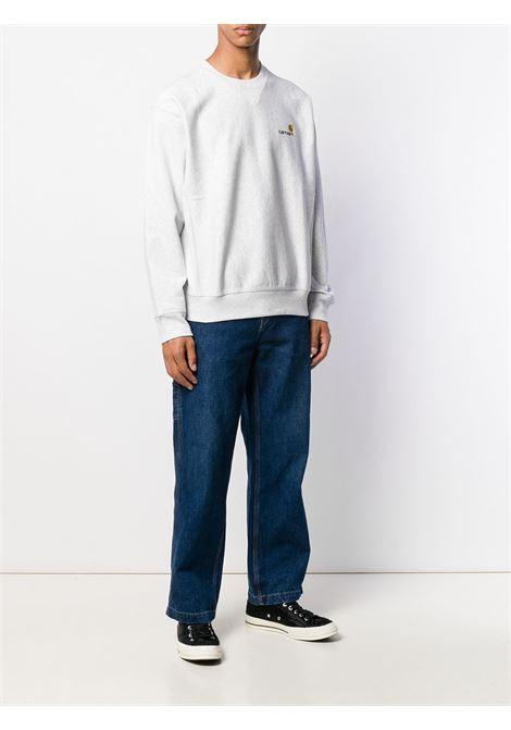 Branded sweatshirt in grey - men  CARHARTT | I02547503482XX