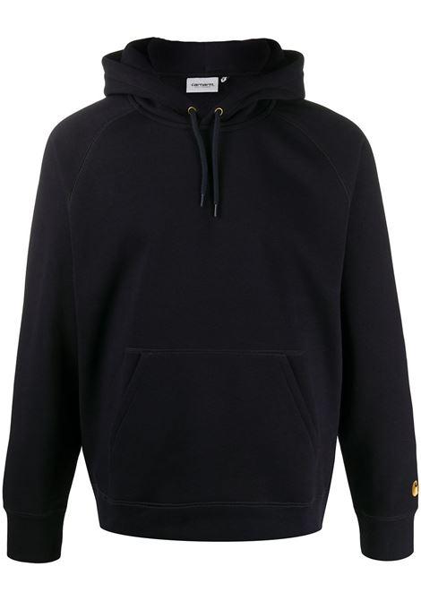Chase long-sleeved sweatshirt in navy blue - men  CARHARTT | I0263840300HXX
