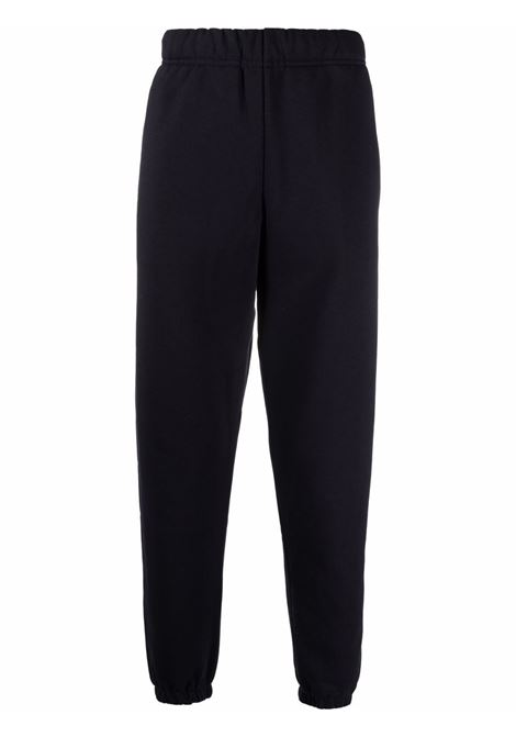Logo-embroidered track trousers in blu - men  CARHARTT | I0282840300HXX