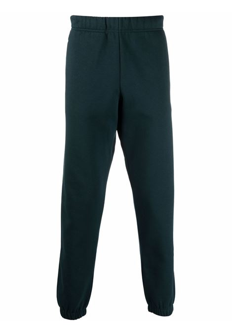 Logo-embroidered track trousers in green - men  CARHARTT | I028284030JJXX