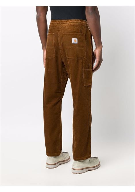 Pantaloni a coste Flint in marrone - uomo CARHARTT | I029443030EP02