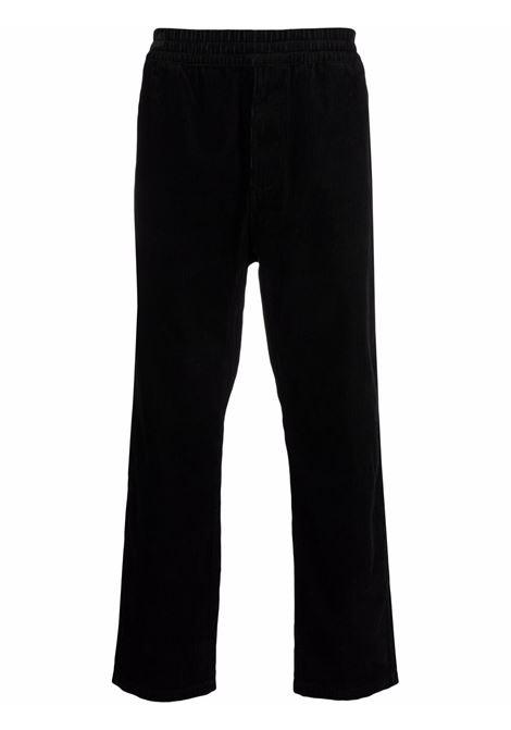 Pantaloni a coste Flint in nero - uomo CARHARTT | I029443038902