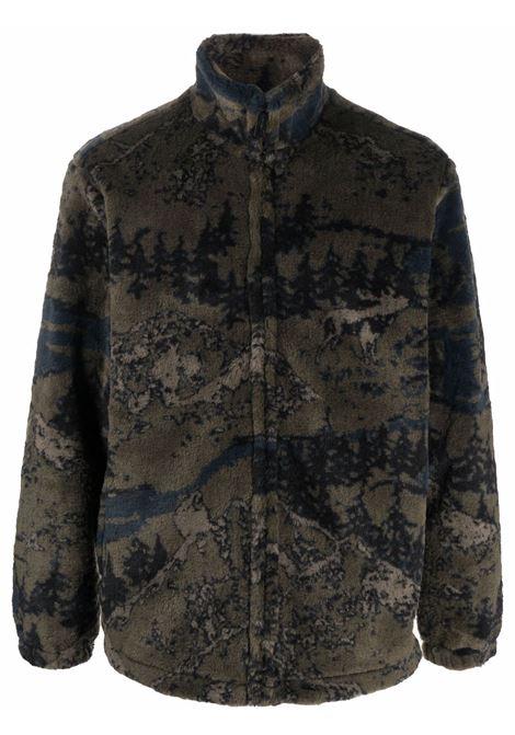 Giacca con stampa camouflage in verde scuro - uomo CARHARTT | I029457030HHXX