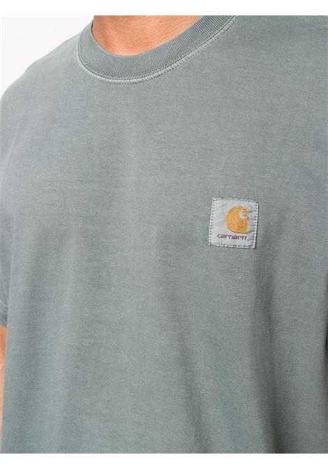Green logo-print T-shirt - men CARHARTT | I029598030ERXX