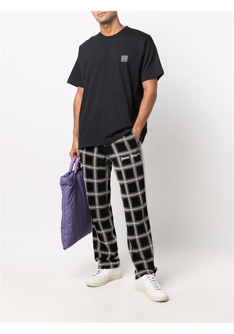 Black logo-print T-shirt - men CARHARTT | I0295980326XX