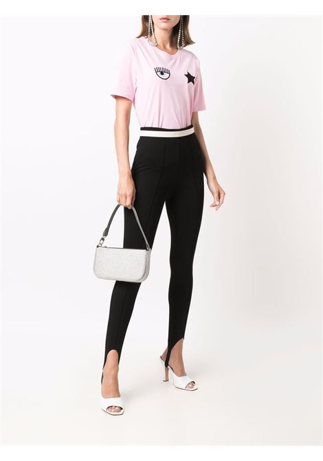 T-shirt a girocollo eyestar in rosa - donna CHIARA FERRAGNI | 71CBHT01CJC0T439