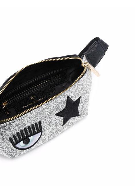 Marsupio con logo Eyestar in argento - donna CHIARA FERRAGNI | 71SB4BO2ZS146900