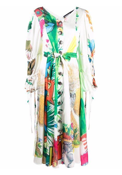 Abito midi a fiori multicolore - donna CHOPOVA LOWENA | 1024WHTMLT