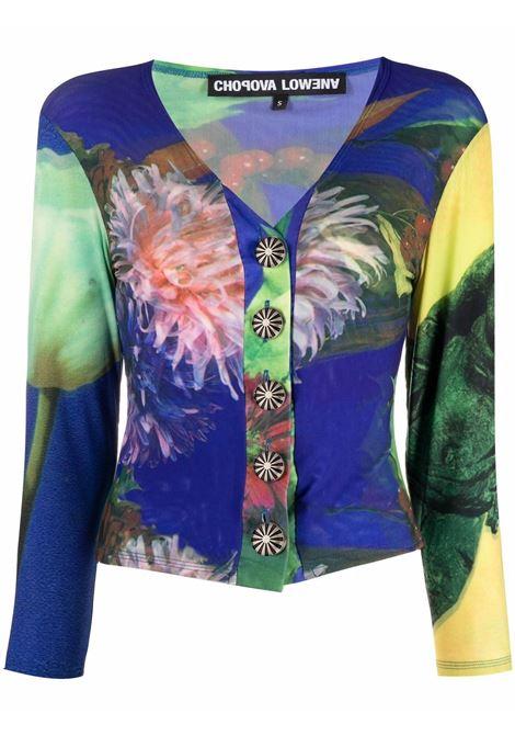 Top con bottoni multicolore- donna CHOPOVA LOWENA | 2021MLT
