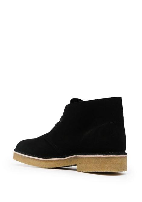Black ankle length desert boots - men  CLARKS ORIGINALS   155855BLK