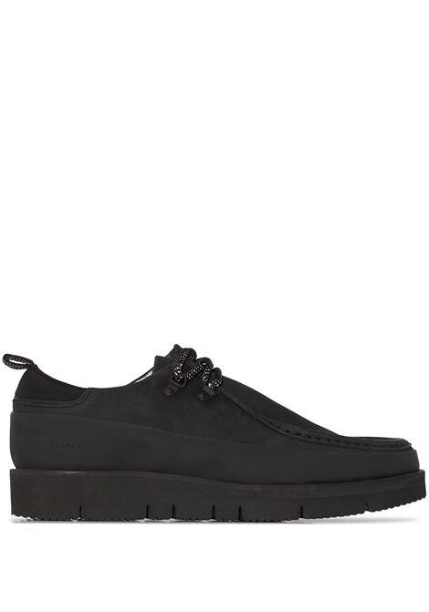 Black Wallabee Hiker boots - men  CLARKS ORIGINALS   26162335BLK