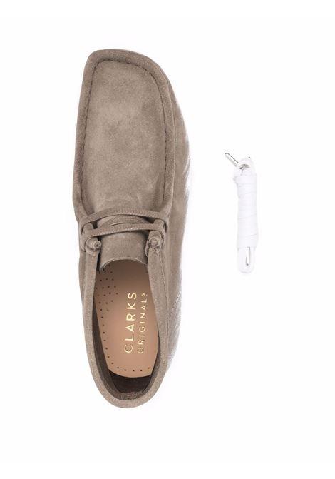 Beige Wallabee boots - men  CLARKS ORIGINALS   26163919SGCMB