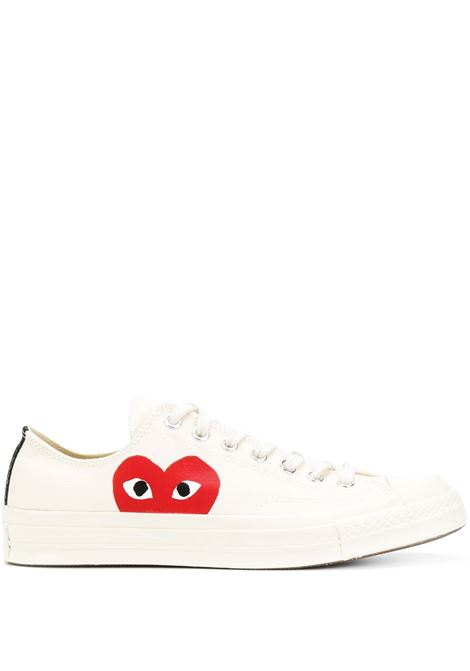 White All Star low-top sneakers - unisex COMME DES GARCONS PLAY | P1K1112