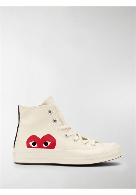 Sneakers Chuck 70 x Converse in bianco - unisex COMME DES GARCONS PLAY | P1K1122