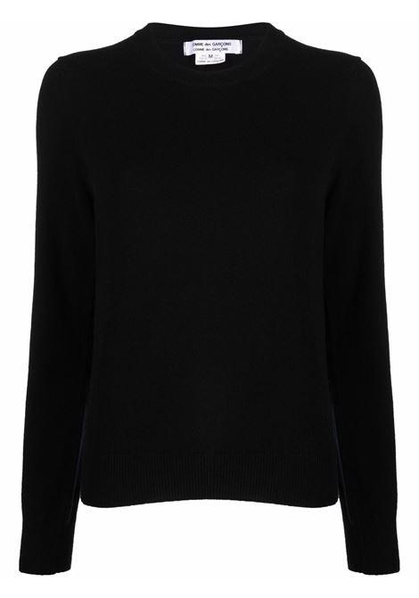 Maglione in nero - donna COMME DES GARCONS   RHN0080511