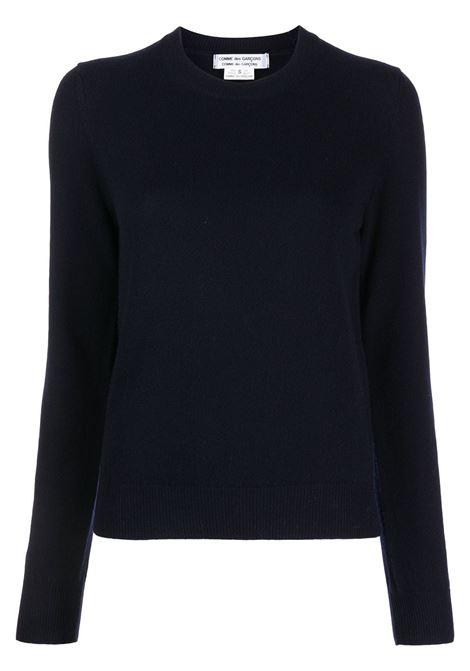 Maglione in blu scuro - donna COMME DES GARCONS   RHN0080512