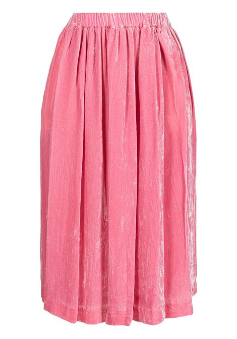 Gonna a vita alta in rosa - donna COMME DES GARCONS   RHS0090512
