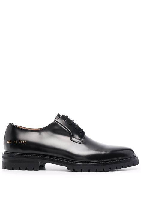 Polished lace-up derby shoes in black - men COMMON PROJECTS | 23217547