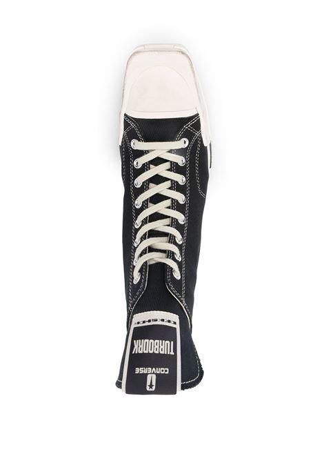 Sneakers alte con chiusura a lacci nero- unisex CONVERSE X DRKSHDW | DC02AX765CTDR191