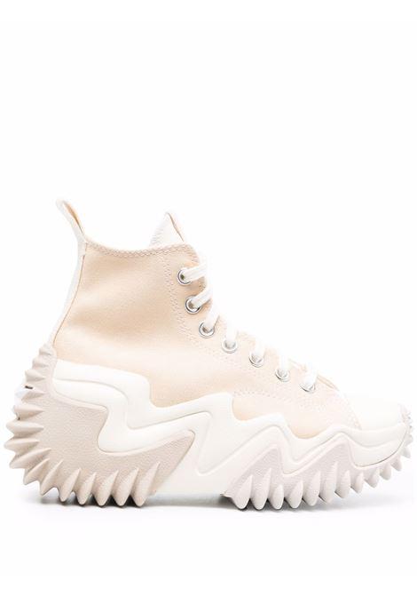 Beige Run Star Motion sneakers - women  CONVERSE | 171547C155