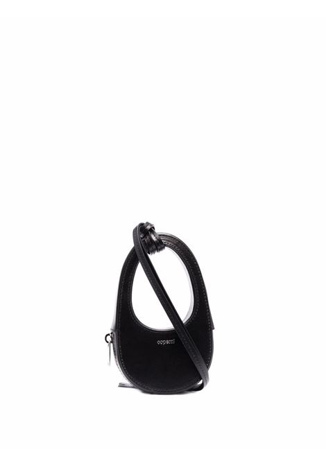 Black swipe mini bag - women  COPERNI | COPF21BA25405BLK
