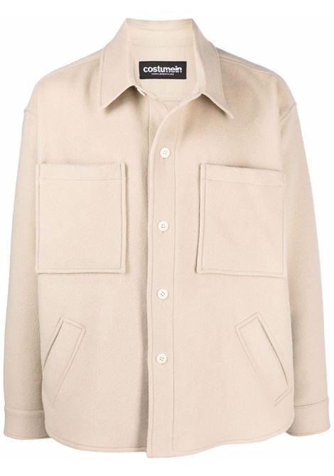 Shirt jacket in beige - men COSTUMEIN | CR469803
