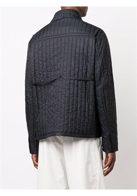 Black quilted shirt jacket - men  CRAIG GREEN | CGAW21CWOJKT01BLK