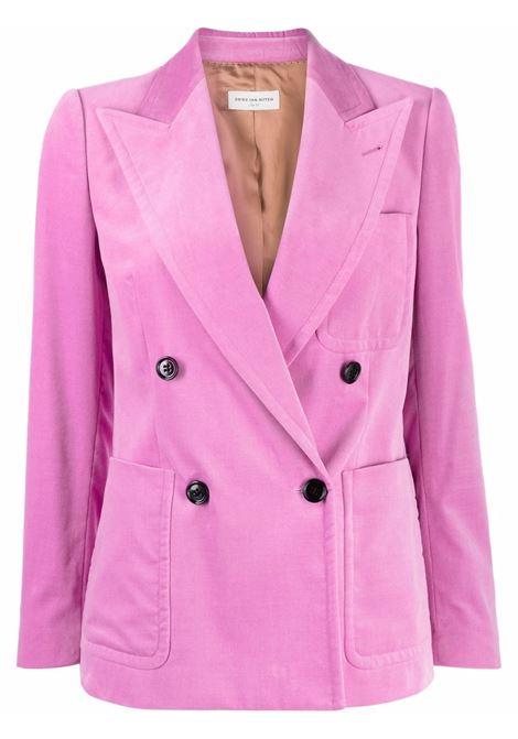 Blazer doppiopetto beau in rosa - donna DRIES VAN NOTEN   2120104043254305