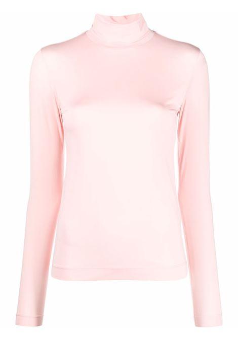 Pink heyser roll-neck top - women  DRIES VAN NOTEN   2120111803220305