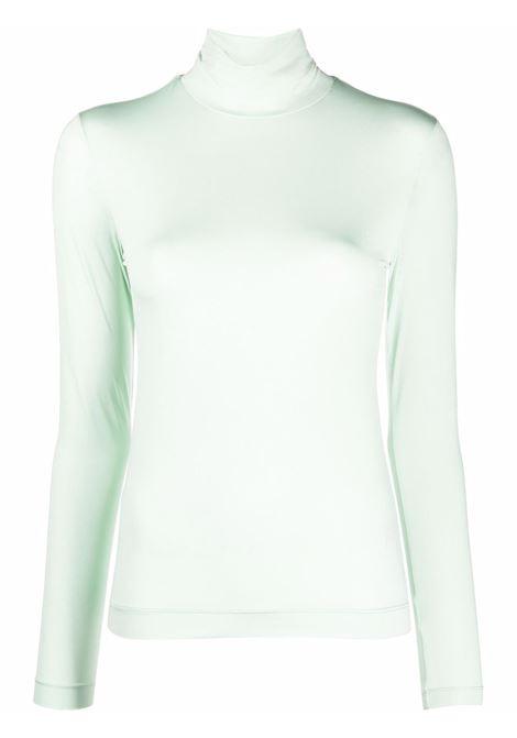 Mint heyser roll-neck top - women  DRIES VAN NOTEN   2120111803220608