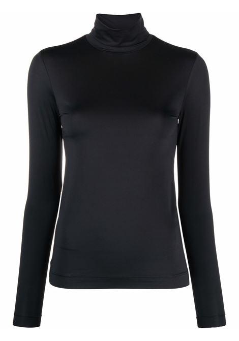 Black heyser roll-neck top - women  DRIES VAN NOTEN   2120111803220900