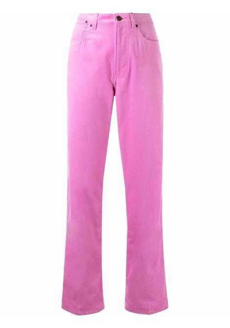 Piscos jeans in pink - women  DRIES VAN NOTEN   2120124103254305