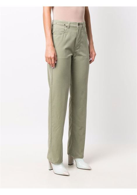 Piscos jeans in mint green - women  DRIES VAN NOTEN   2120124103254608