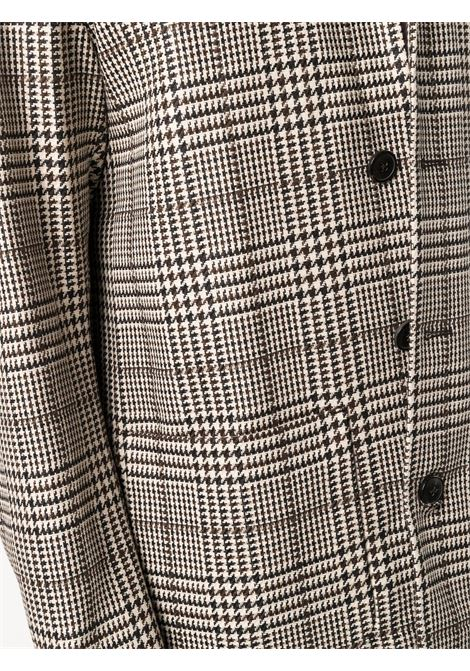 Brown single-breasted blazer - men  DRIES VAN NOTEN | 2120204063286900
