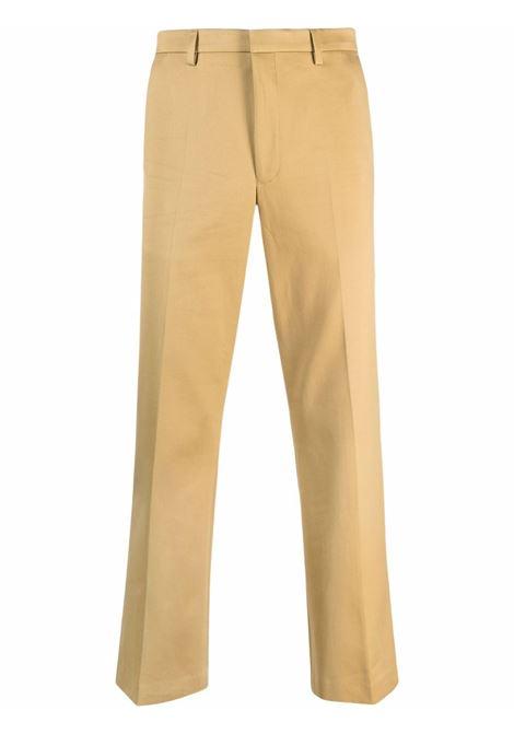 Parch cropped trousers in beige - men  DRIES VAN NOTEN | 2120209163036103
