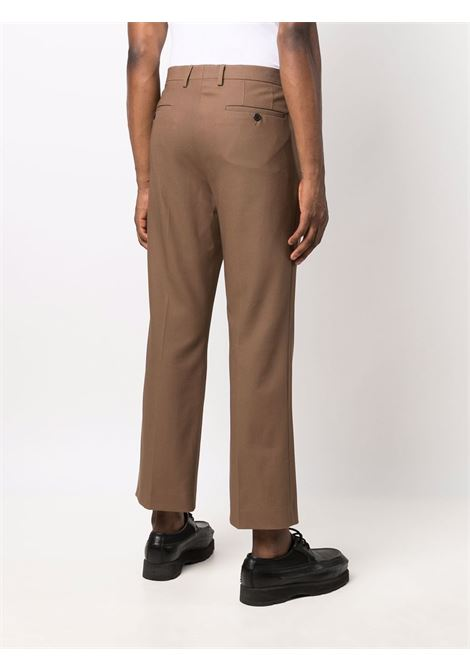 Parch cropped trousers in brown - men  DRIES VAN NOTEN | 2120209163234705