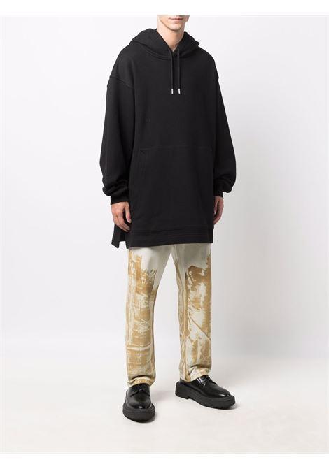 Hespe hooded sweatshirt in black - men  DRIES VAN NOTEN | 2120211373612900
