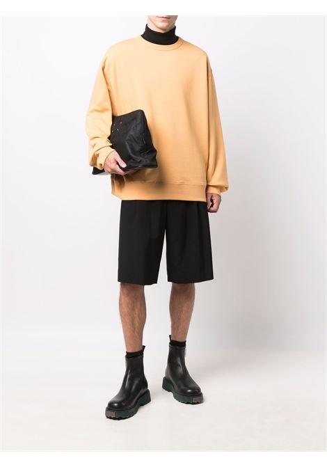 Hax crew-neck sweatshirt in peach - men  DRIES VAN NOTEN | 2120211463608350