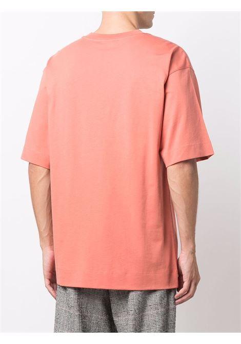 Heli t-shirt in rose pink - men  DRIES VAN NOTEN | 2120211743604303