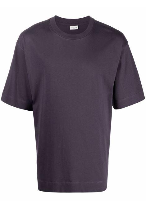 Heli t-shirt in purple - men  DRIES VAN NOTEN | 2120211743604404