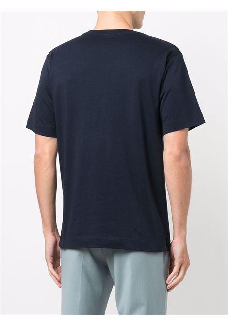 Hertz t-shirt in navy blue - men  DRIES VAN NOTEN | 2120211943600509