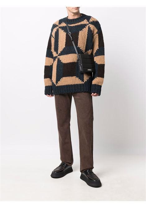 Tibor jumper with geometric pattern - men  DRIES VAN NOTEN | 2120212583705508