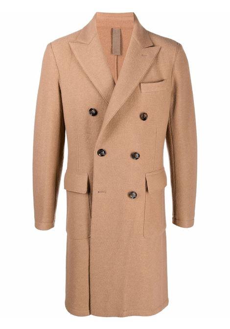 Cappotto doppiopetto in marrone - uomo ELEVENTY | D70CAPB01CAS2400403