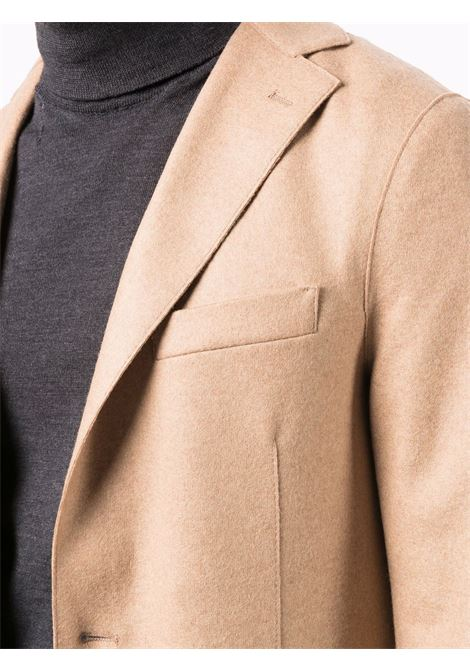 Fitted single-breasted blazer beige - men ELEVENTY | D70GIAA01JAC2401804A