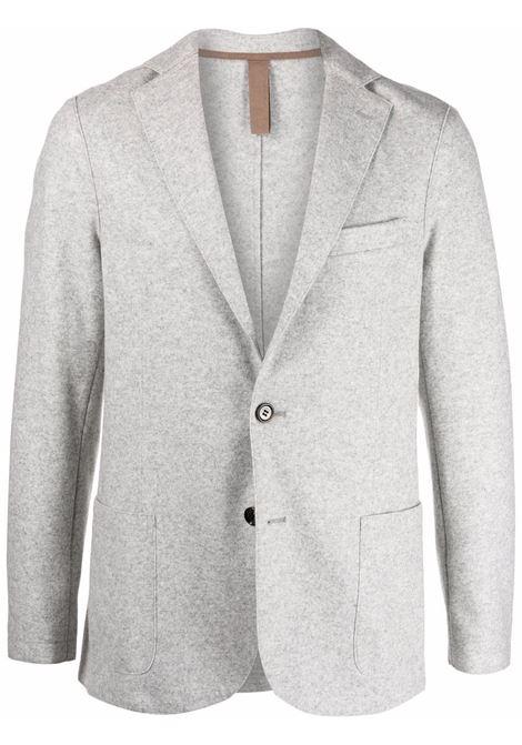 Fitted single-breasted blazer grey - men ELEVENTY | D70GIAA01JAC2401813N