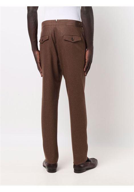 Pantaloni dritti in marrone - uomo ELEVENTY | D75PAND03TES0D03705