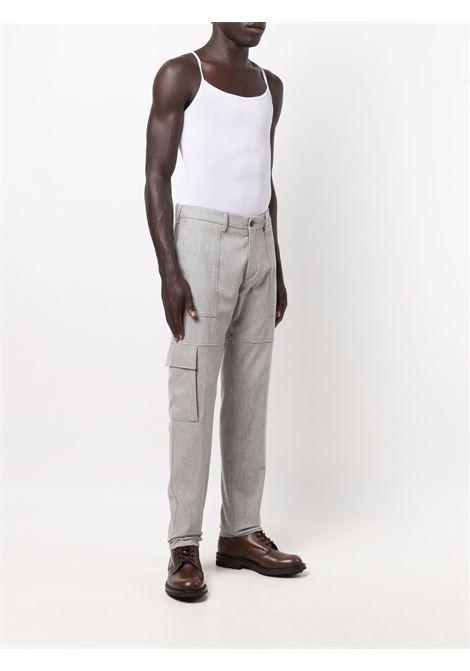 Pantaloni dritti in grigio - uomo ELEVENTY | D75PAND04TES0D03713