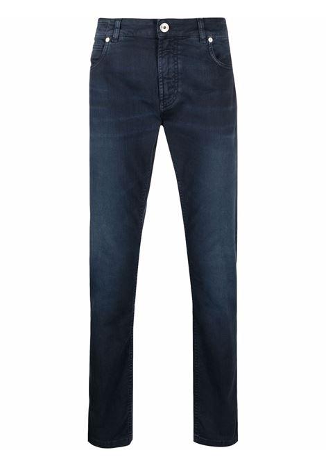 Skinny jeans blue - men  ELEVENTY | D75PAND16TET0D02011